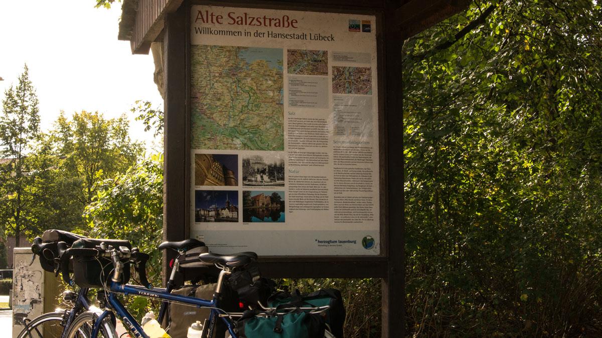 Radweg Alte Salzstraße