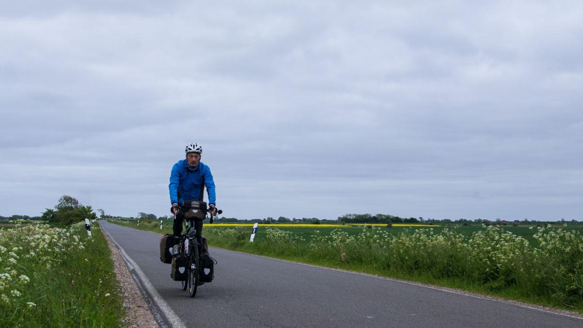 Straße von Niebüll zur Nordsee