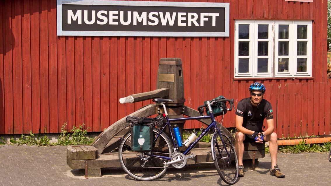 Start in Flensburg an der Museumswerft