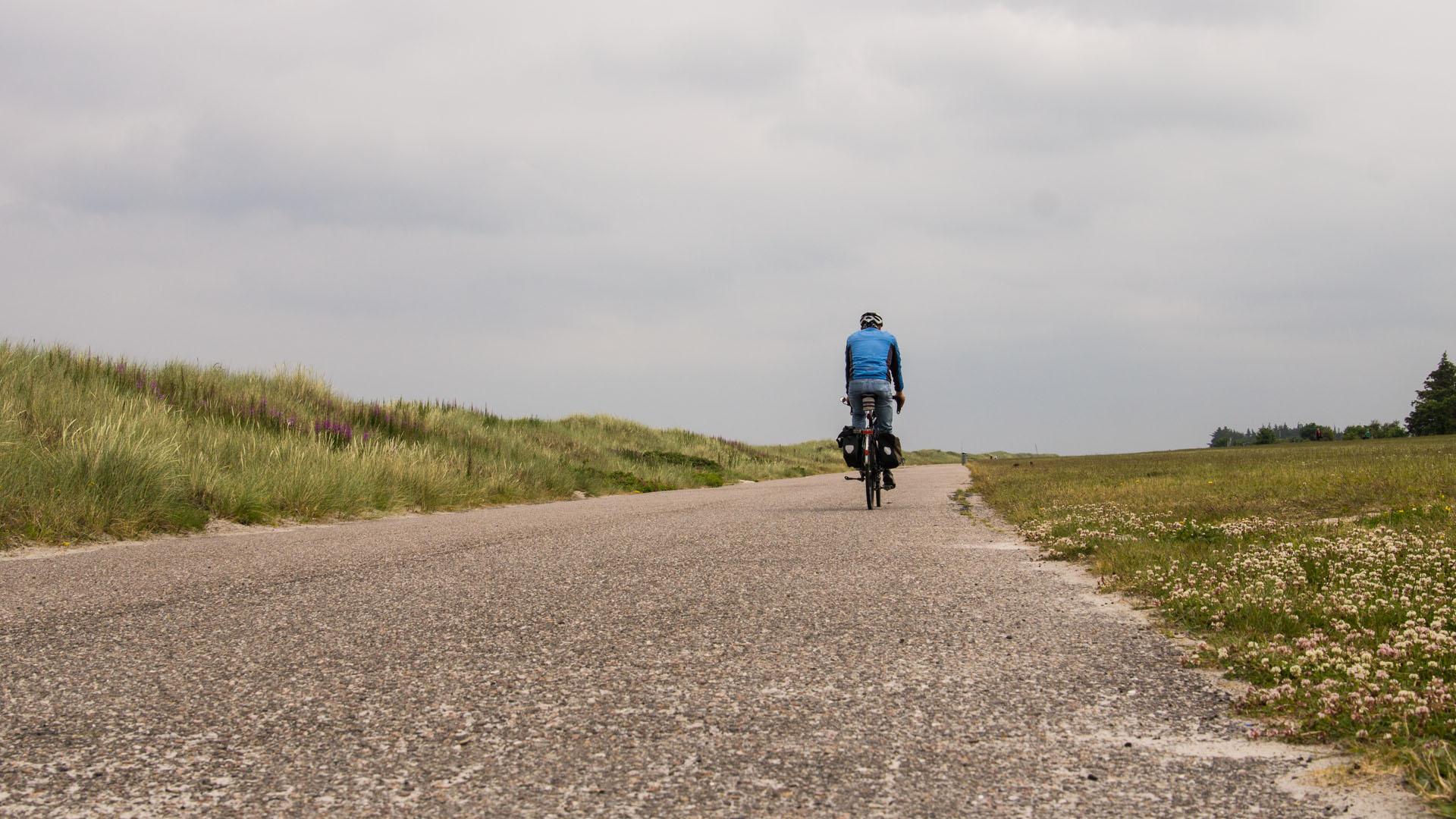 Auf dem Ostseeküsten-Radweg