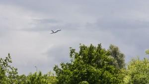 Flieger im Minutentakt
