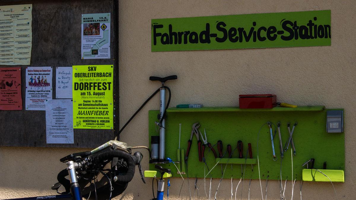 Fahrrad-Service-Station