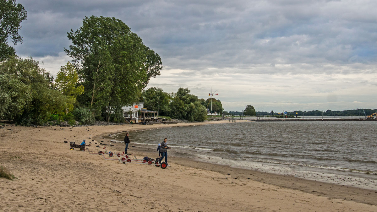 Wedel Strandbad 28 Grad