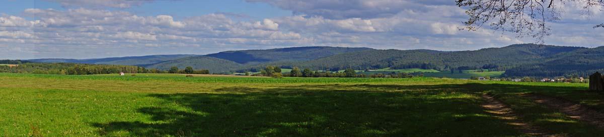 Aussicht am Beerfelder Galgen