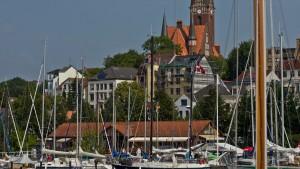 Flensburg am Hafen