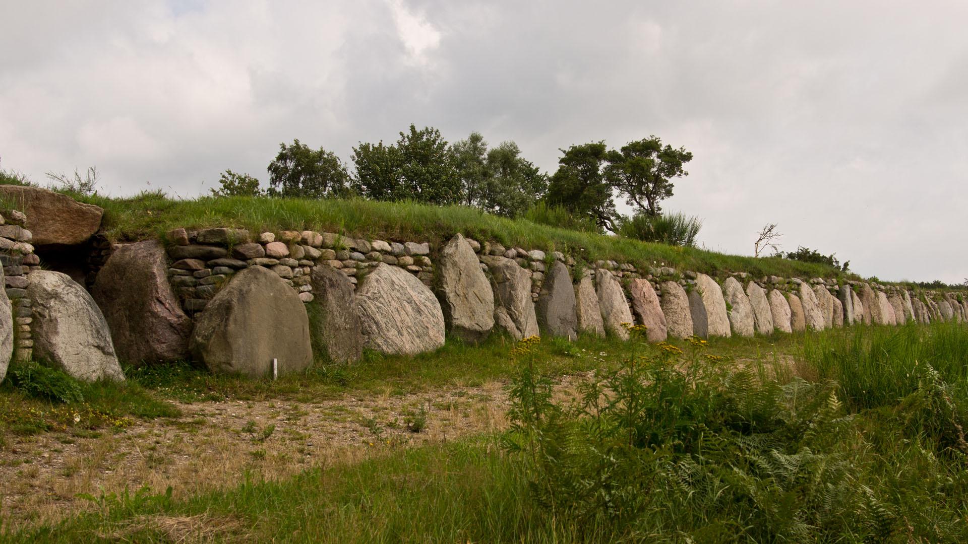 Munkwolstrup Steingrab Jungsteinzeit