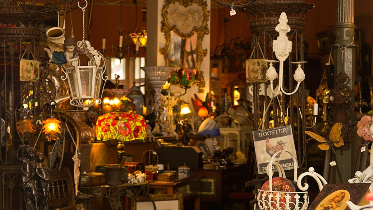 Geschäft in der Lüneburger Altstadt