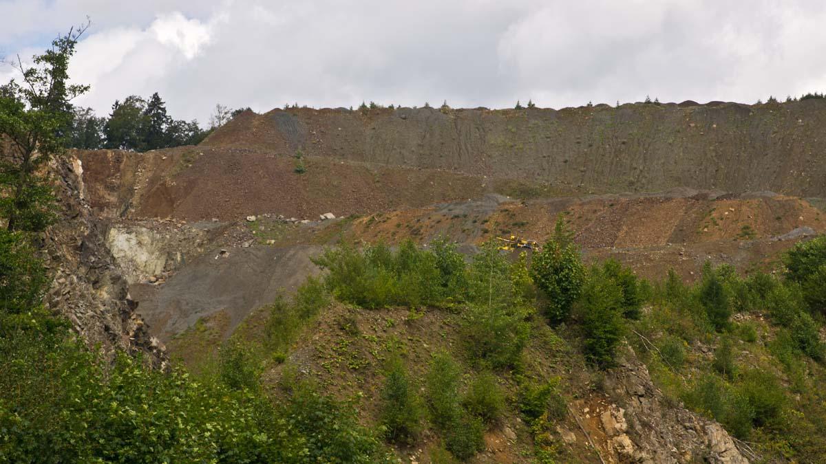 Steinbruch im Harz