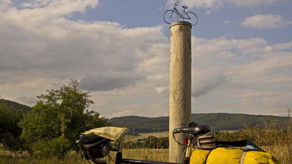 Auf dem Werra-Radweg