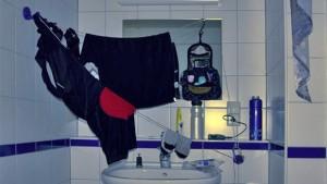 Waschtag bei Radlers