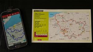 rad&tour Streckenkarte