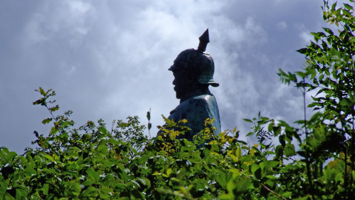 Der alte Bismarck auf dem Aschberg