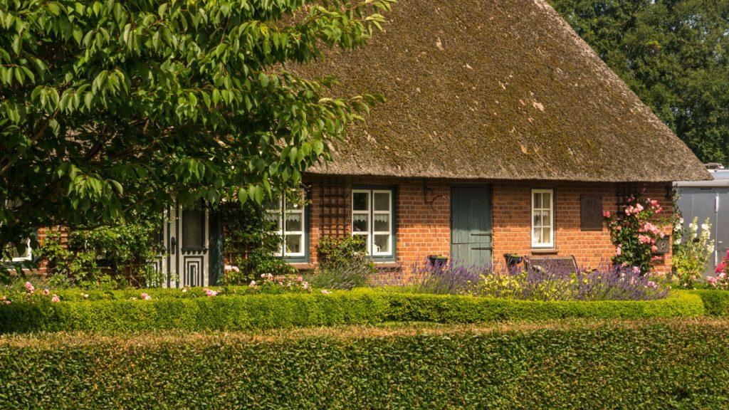 Reetdachhaus in Gelting